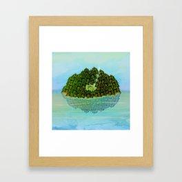 GREENERY HOME / Nature Framed Art Print