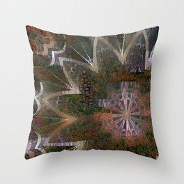 Mandala Grotesque New 2 Derivative Throw Pillow