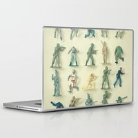 army Laptop & iPad Skins featuring Broken Army by Cassia Beck