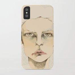 """""""portrait of anybody"""" iPhone Case"""