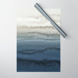 WITHIN THE TIDES - CRUSHING WAVES BLUE Wrapping Paper
