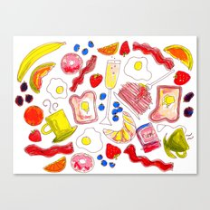 Brunch with me Canvas Print