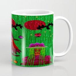 Lady Pandas In Everglade Coffee Mug