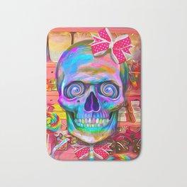 Candy Shop Skull Bath Mat