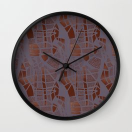 Dot Manifestation 2 Wall Clock