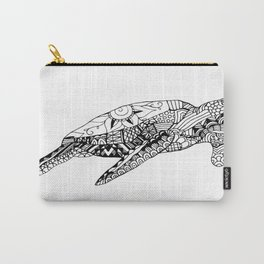 """""""Color Therapy"""" Sea Turtles Carry-All Pouch"""
