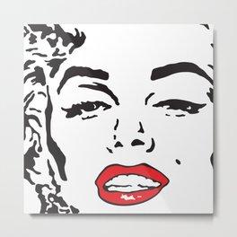 Marilyn 2 Metal Print