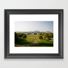 Greenwich park Framed Art Print