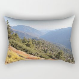 San Gabriel Mountains Rectangular Pillow