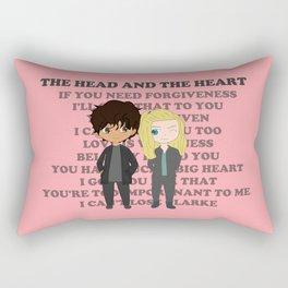 BELLARKE THE HEAD AND THE HEART Rectangular Pillow