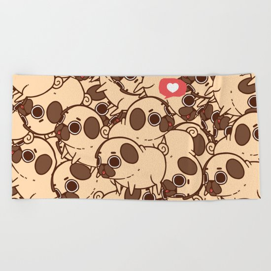 Puglie Heart Beach Towel
