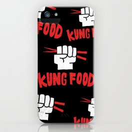 KUNG FOOD iPhone Case