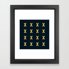 Affection X Framed Art Print