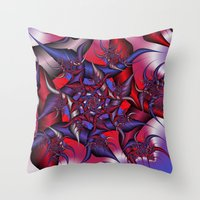 war Throw Pillows featuring war by Christy Leigh