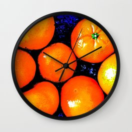 Clementines Wall Clock