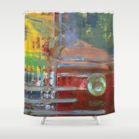 car Shower Curtains featuring Car by Fernando Vieira