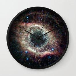 Helix Nebula Wall Clock