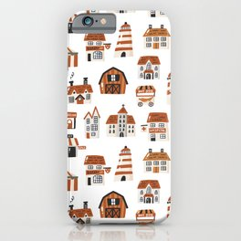 Tiny Houses Buildings an more iPhone Case