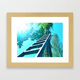 She's Buying A Stairway To Heaven Framed Art Print