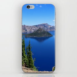 Deep Blue Carter iPhone Skin
