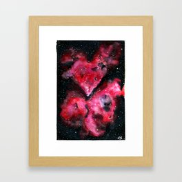Carinae Framed Art Print