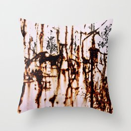 Driving That Train Throw Pillow