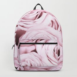 Pink Roses Flowers - Rose and flower pattern Backpack