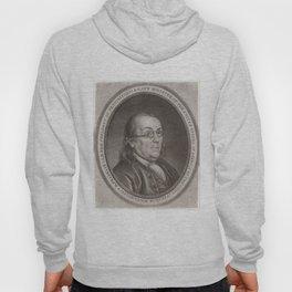 Vintage Portrait of Ben Franklin (1787) Hoody