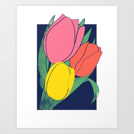 Blooming 4 Art Print