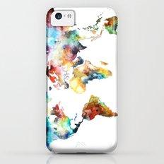 World map iPhone 5c Slim Case