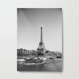 Paris, la Dame de Fer Metal Print