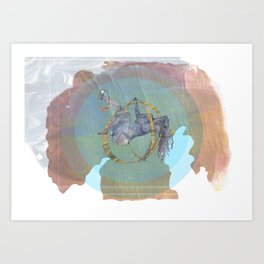 No Greater Security Art Print