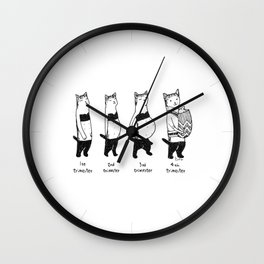 The 4th Trimesters Wall Clock