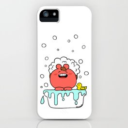 bath time iPhone Case