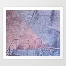 North Atlantic - circa WWIIpsd - 148 of 479  Art Print