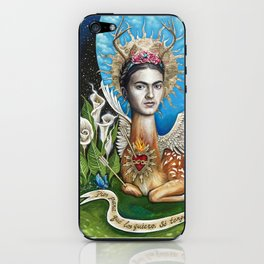 Wings to fly iPhone Skin