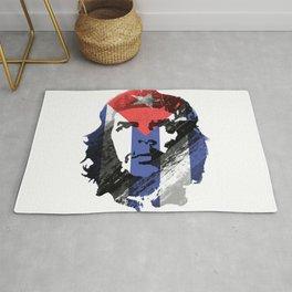 Che Guevara Cuban Revolution Flag Rug
