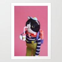 Porco! Art Print