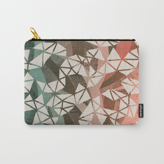 Geometry Jam Carry-All Pouch