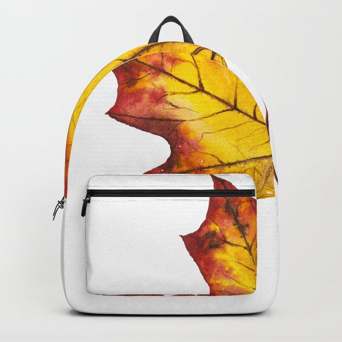 Autumn Leaf 04 Backpack
