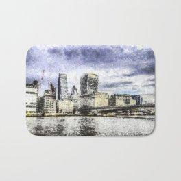 City of London Art Bath Mat