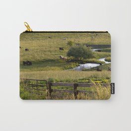 Sunset at the Pasture Carry-All Pouch