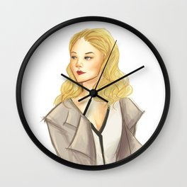 elementary: moriarty Wall Clock