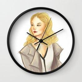 elementary: moriarty Wall Clock