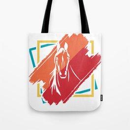 Horse horses gift pony mare stallion riding Tote Bag