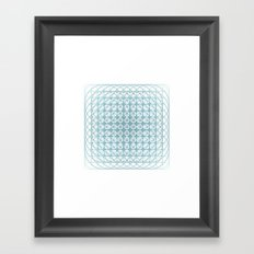 #436 Vortex – Geometry Daily Framed Art Print