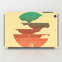 cycling iPad Cases featuring Go West (cycling edition) by Picomodi