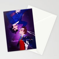 The Sun and Stars Stationery Cards