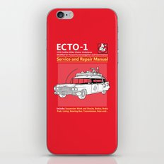 ECTO-1 Service and Repair Manual iPhone & iPod Skin