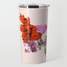 Bangladesh Flower Child Travel Mug